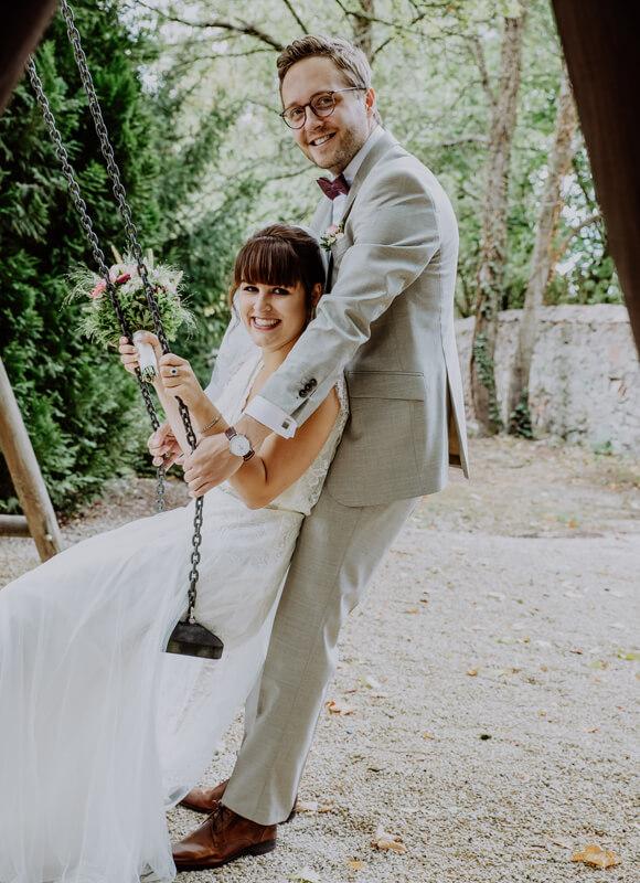 Brautpaar-Schaukel